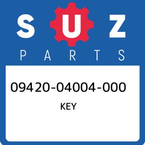 09420-04004-000-Suzuki-Key-0942004004000-New-Genuine-OEM-Part