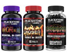 Blackstone Labs AbNORmal / Chosen 1 / Eradicate STACK - Build Lean Muscle - NEW!