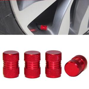 Red Bike 4pcs Valve caps// Cover Tyre Car Van Dust Caps Truck