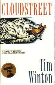 Cloudstreet, by Tim Winton, Like new, rare edition, free shipping+tracking