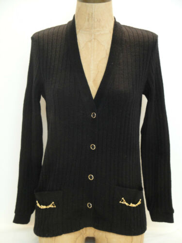 OMG! JEAN DESSES Wool Cardigan Sweater~from Ready