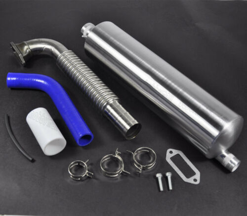 1 Set Canister Muffler,Tuned Front Exhaust Pipe for DLE170 170CC