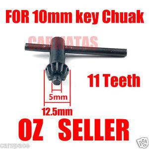 Metal Key for 10mm Drill Chuck for Makita Dewalt Hitachi Bosch GMC AEG Ryobi