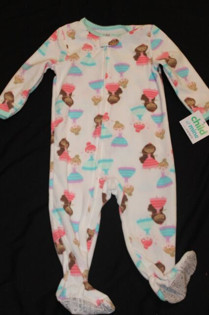 ae453b7ce Carter s Child of Mine Footed Sleeper Ballerina 18 or 24 Months  74 ...
