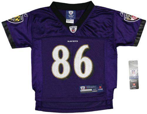 "NFL Baltimore Ravens Jersey #86 /""Heap/"" New"