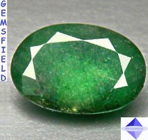 Top-Transparente-2-60cts-EMERAUDE-de-COLOMBIE-vert-forets-tropicales-poli-AA