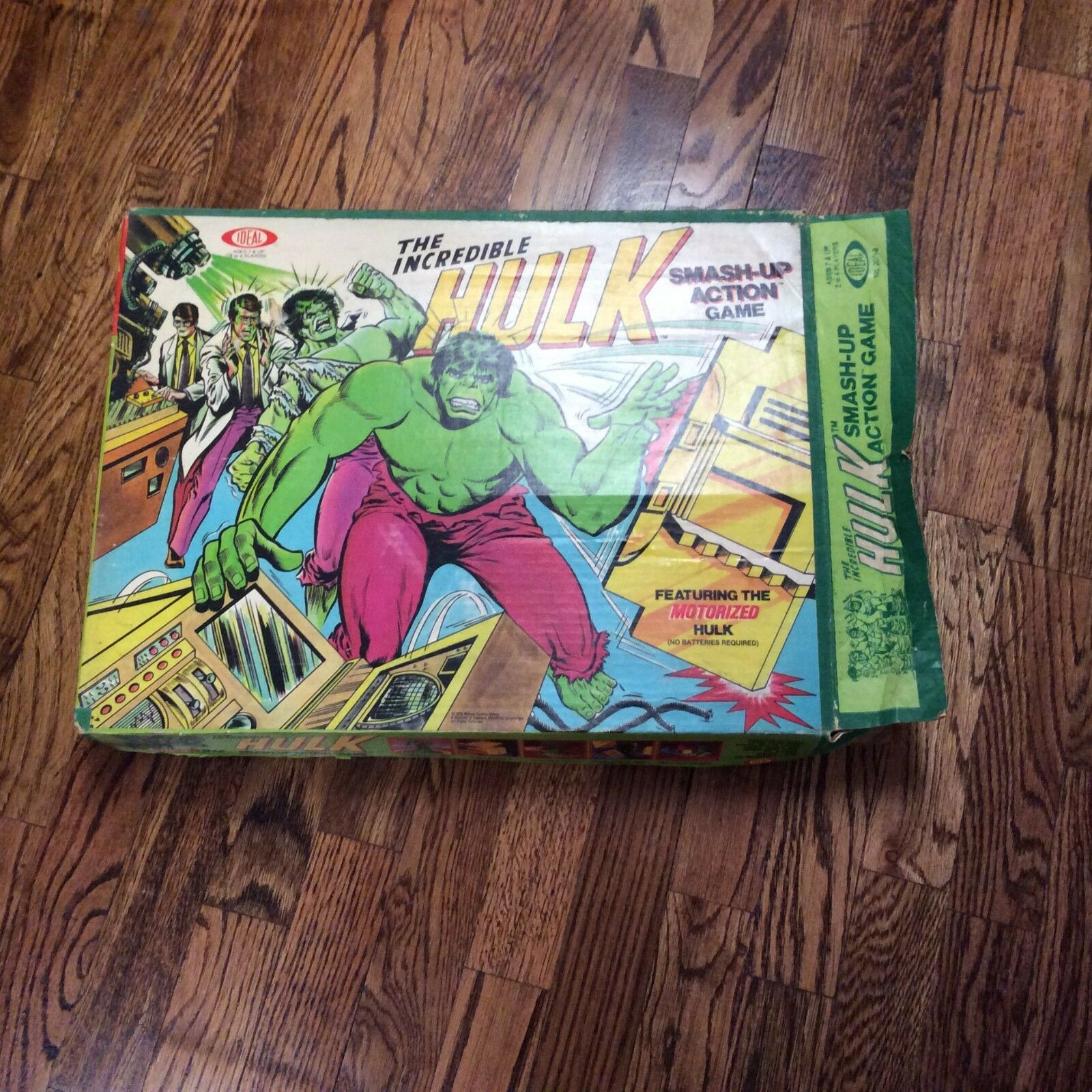 Vintage Vintage Vintage The IncROTible Hulk Smash Up Action Game Ideal Toys 1979 7711fa