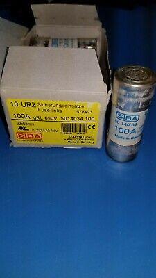 NEW SIBA RAPID SEMICONDUCTOR FUSE 5012934.40 40A AMP 690//700V VOLT 50-129-34