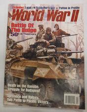 World War II Magazine Battle Of The Bulge 50th Anniversary November 1994 081215R