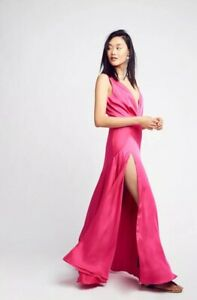 1698cdddd5 NEW Free People X Fame And Partners Essie Maxi Dress Size 2 ...