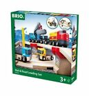 BRIO 33210 Rail and Road Loading Train Set
