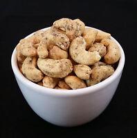 Sea Salt and Black Pepper Cashew Nuts 450g