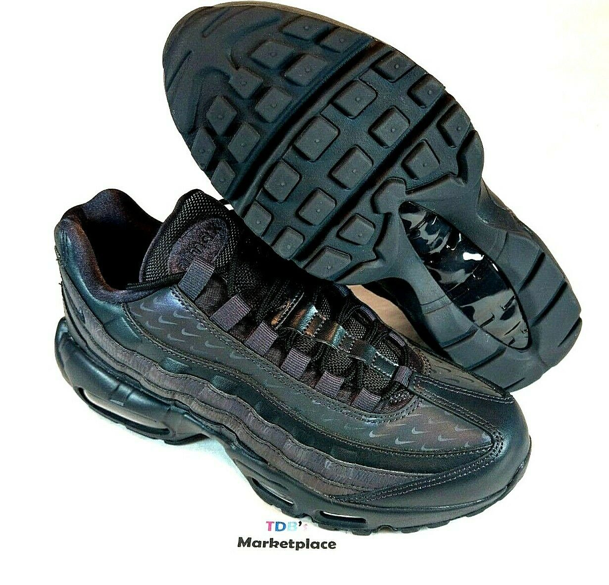 Nike Air Max 95 LX Oil Grey Reflective AA1103 004 Just Do It Women's Size 8