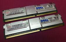 2GB Kit Hynix Dell SNP9F030CK2/2G ECC PC2-5300F 667MHz DDR2 Server Memory
