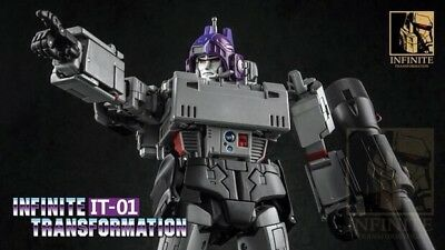 Takara Transformers MP36 Megatron /& Infinite IT01 Megatron