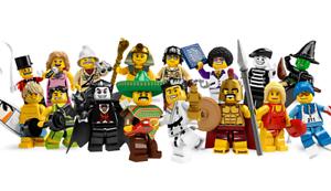 LEGO-Minifigures Série X 1 jambes pour la police man from series 9 pièces 9
