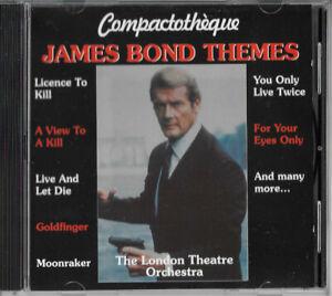Cd - James Bond thèmes the London Theatre Orchestra