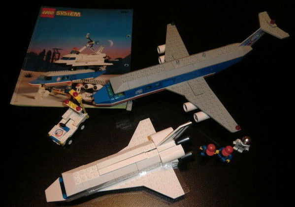 Lego System 6544 Town 1995, Space Port, Space Shuttle  mit Bauanleitung