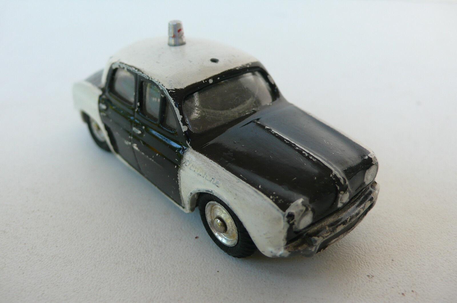 CIJ   RENAULT DAUPHINE  POLICE   ÉTAT DE JEU    1956