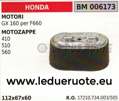 TERZO ELEMENTO FRESA HONDA F501-510 560
