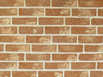 Klinker Herrlich Handform-verblender Wdf Bh179 Rot Nuanciert Klinker Vormauersteine