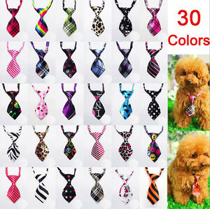 31Color Wholesale Small Pet Dog Puppy Necktie Collar Bow Tie accessories out lot
