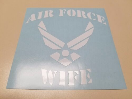 Window Toolbox Stickers #712 U.S Air Force Wife Sticker