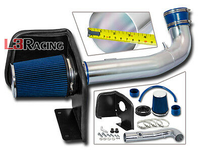 Cold Air Intake Kit +Heat Shield For 09-13 Sierra 1500 / Sierra Denali V8