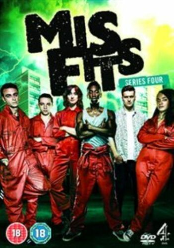 1 of 1 - Misfits: Series 4 [DVD] New & Sealed