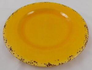 Ashland-Summer-Fiesta-Salad-Dessert-Plate-New-Yellow-Plastic