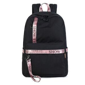 5162c32216 Image is loading Fashion-Waterproof-Women-Backpack-School-Bags-Girls-Casual-