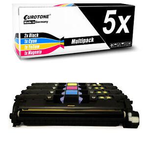 5x-eurotone-Toner-pour-HP-Color-LaserJet-2840-aio
