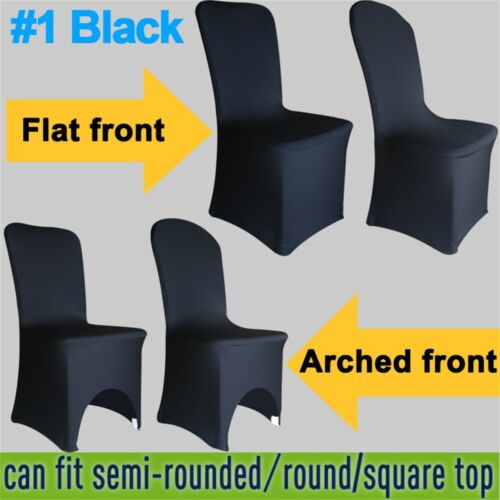 1//4//6//10PCS Dining Chair Covers Spandex Slip Cover Stretch Wedding Banquet Party