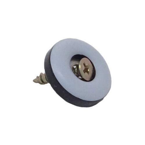 Schraube Möbelgleiter SBS® 200 Stück Teflongleiter zum Schrauben Ø 22mm inkl