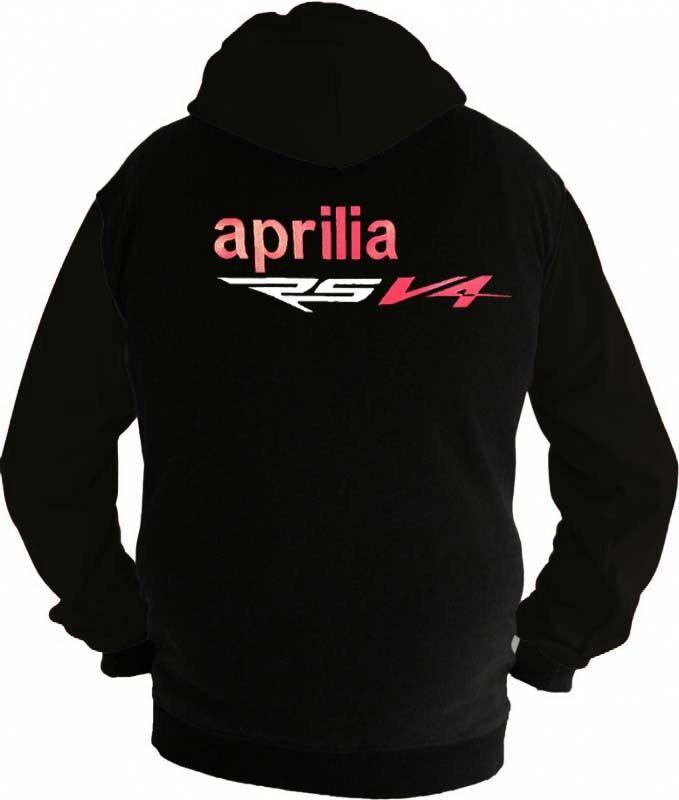 Aprilia RS V4 Fan Kapuzenjacke Sweatshirt  Hoodie Lieferz. ca. 8 Tage