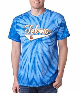 buy popular 5e21d 4f474 Details about TIE DYE Tim Tebow