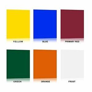 8pcs 40 50cm Lighting Color Correct Gel