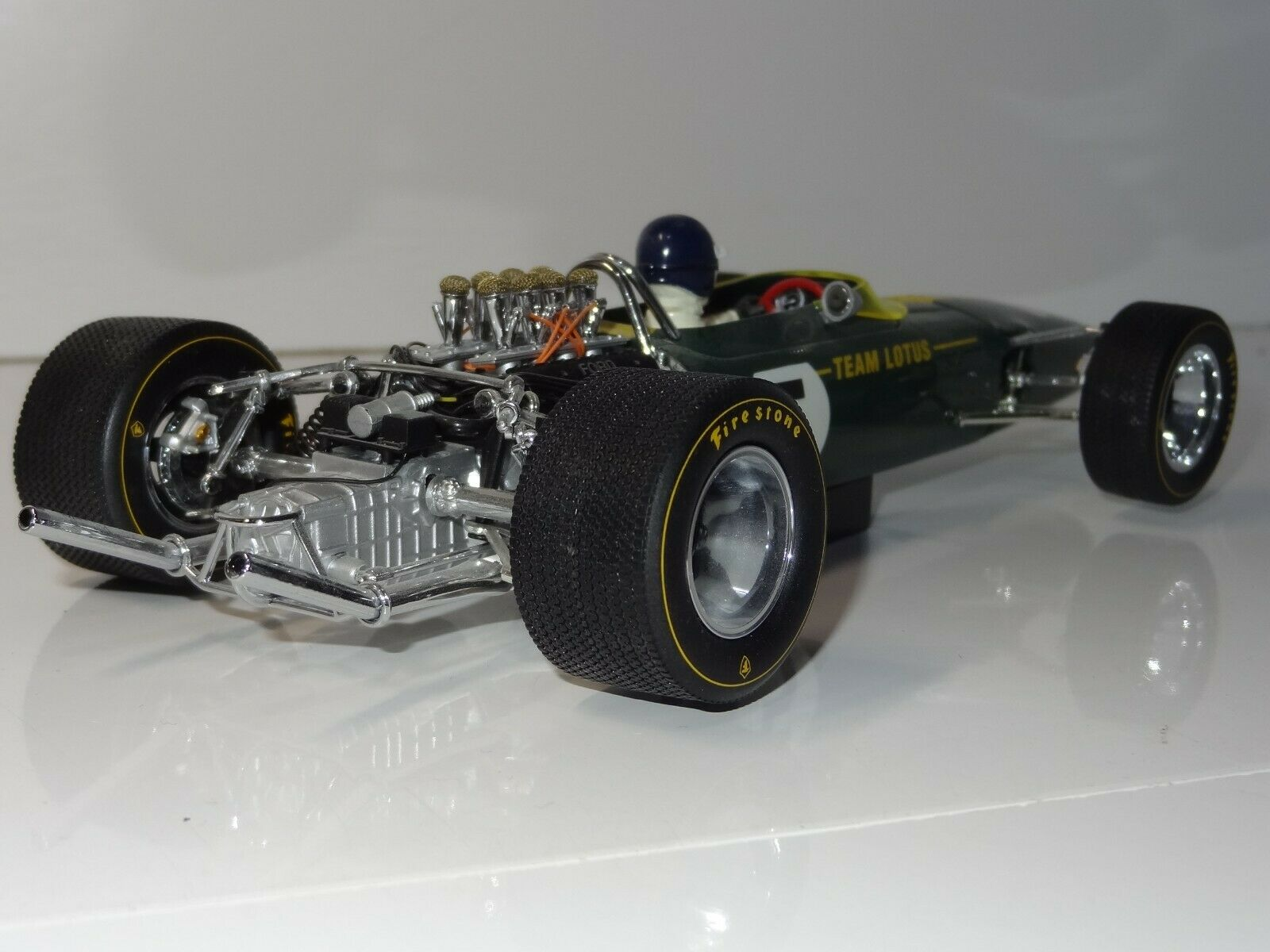 (W) EXOTO 1 1 1 18 LOTUS FORD 49 GRAHAM HILL South Africa Grand Prix - 97003 BOXED 002bdc