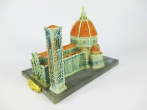 AgréAble Dom Florence Cathédrale Moulés Modèle 15 Cm Souvenir Italie-afficher Le Titre D'origine