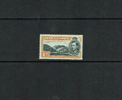 13.5 1d Black & Yellow/orange Perf Sg39a Mint To Adopt Advanced Technology Ascension Is : 1938