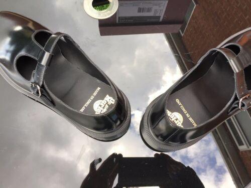 de Eu Bar Martens T Inglaterra Black cuero Uk 43 Dr Zapatos 9 wqpX1wx