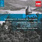 Bruch: Symphonies 1-3; Concerto for Two Pianos (CD, Mar-2009, 2 Discs, EMI Classics)