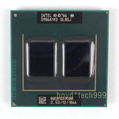 AW80581ZH061003 Intel Core 2 Extreme QX9300 SLB5J CPU 1066//2.53 GHz 100/% Work