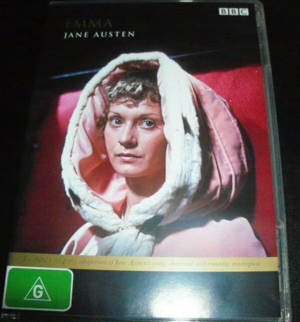 EMMA (Jane Austen) BBC Original (Australia Region 4) DVD – Like New