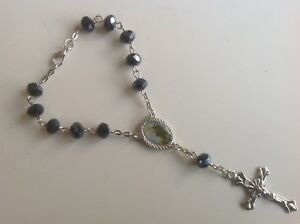 Beautiful-Rosary-for-Car-Rear-View-Mirror-with-St-Jude-and-Cross