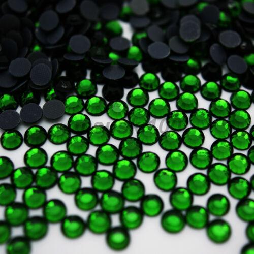 Hotfix Iron on Verre Strass Diamant Pierres Précieuses H Qualité Décoration Craft Perle