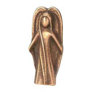 Bronzehandschmeichler-Engel-mit-Karte