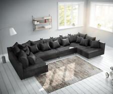 Couch Clovis Xl Anthrazit Antik Optik Wohnlandschaft Modulsofa Ebay