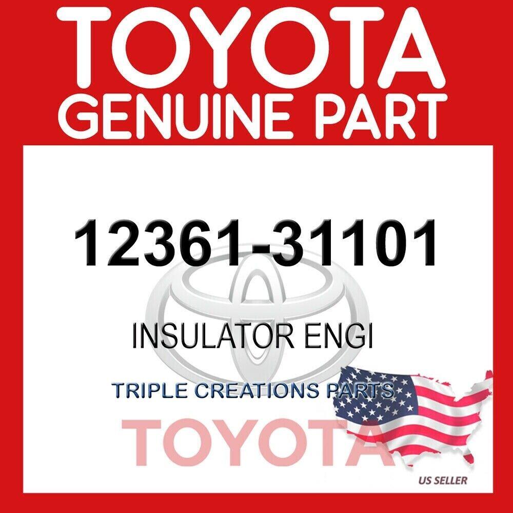 1236131101 Genuine Toyota INSULATOR  ENGINE 12361-31101