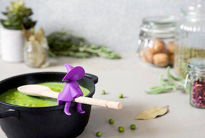 AGATHA Witch Spoon Rest Holder Steam Releaser Cooking Kitchen Home Gift Ototo